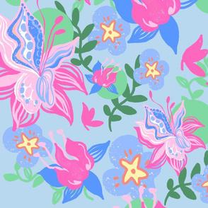 blooming spring_blue