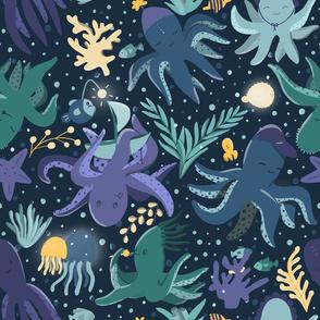 Kraken's childhood