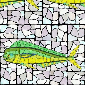 Mosaic  Stained Glass Mahi full