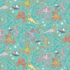 Sea Monsters, Large