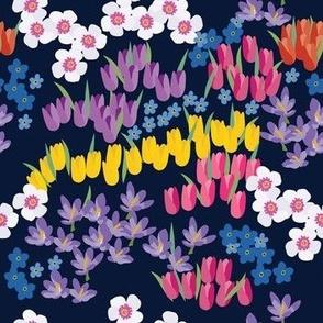 Ditsy Flower Garden