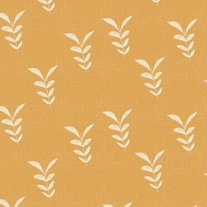 Leaves  in Mustard