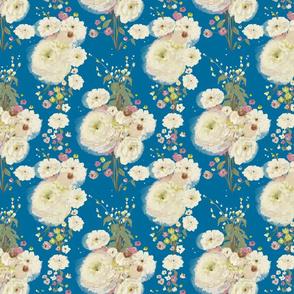 Charming Bouquet - blue