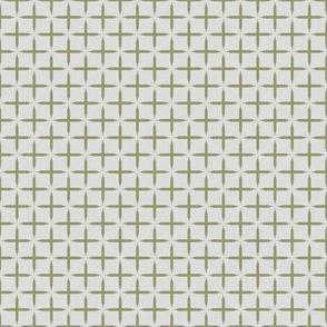 Crosses - Guacamole on light gray