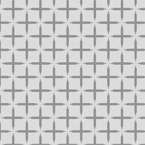 Crosses - Stardust on light gray
