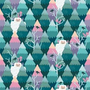 Yeti forest / Medium scale