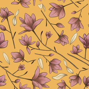 Magnolia Blossom Yellow