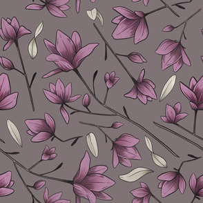 Magnolia Blossom Purple