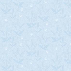 Tip toe thru the Teasels/blue ice