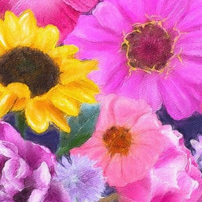 Flower Party Painterly
