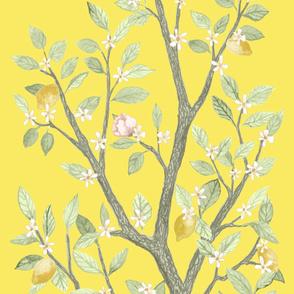 Panel B Custom Heather Citron Lemon DELUXE