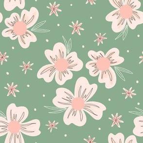 Blooms on Jade