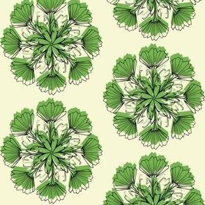 Radial Vintage Floral_Green re