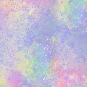 Pastel Space Cafe Background