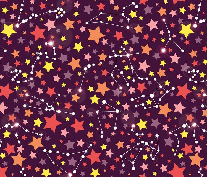Zodiac Star Journey purple
