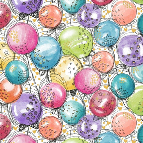 Celebratory Balloons-Medium