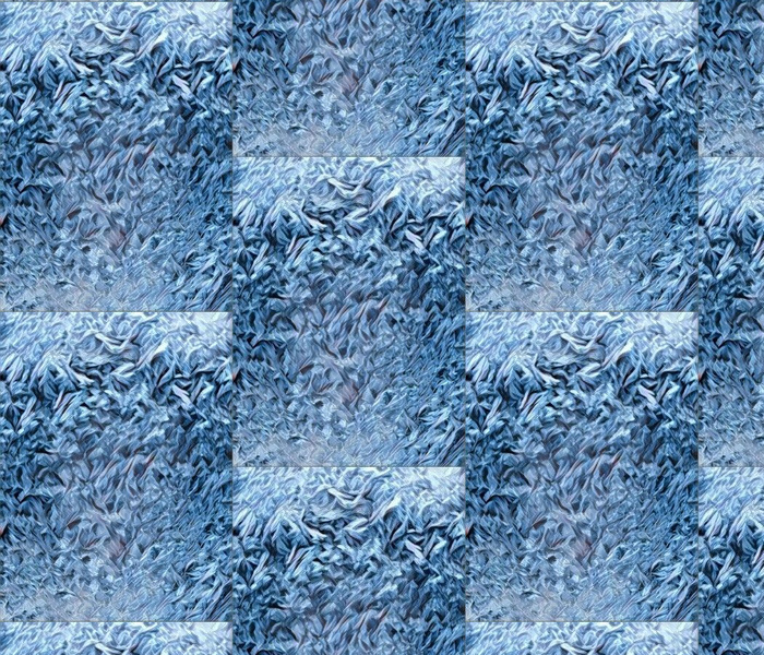 Ice crystals in dark b