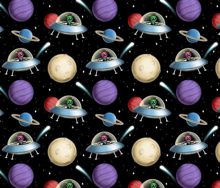 Galaxy Alien Spaceship Race