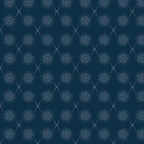 Mystical dandelions - Wisp Pink on Elephant