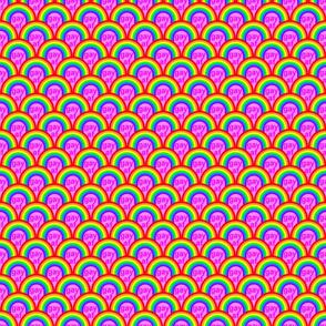 Gay AF pink
