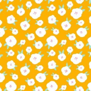 BUNNY HOP FLOWERS orange