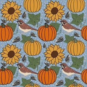 Pumpkins & Sparrows