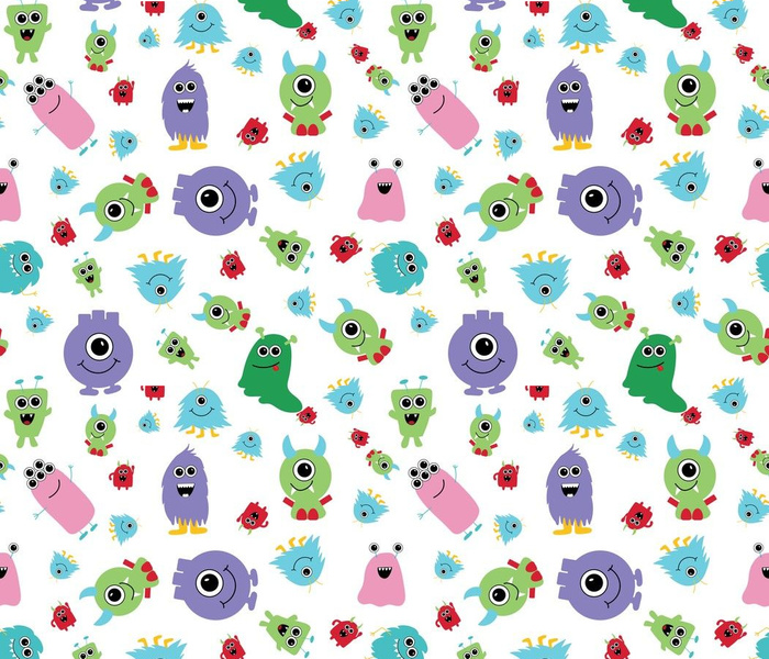 colorful_monsters_white_01_seaml_stock
