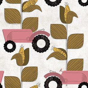 Lost in a Corn Field | Pink Tractor