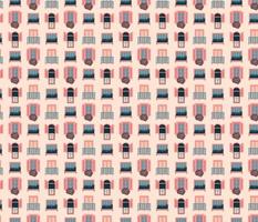 Paris Vintage Pink Windows