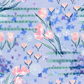 Bursting Spring through Shades