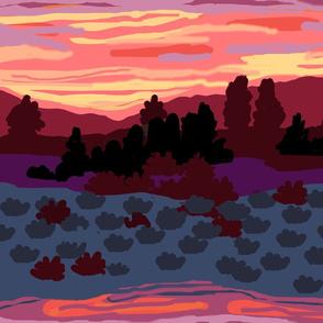 My Nevada Desert Sunset