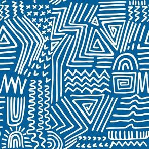spirited - blue