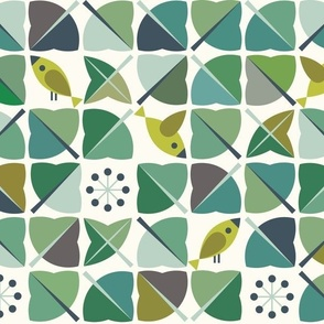 Birds in my ivy
