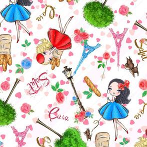 Paris,  eiffel tower, small dogs, bright, chihuahua pattern, chihuahua puppy, chihuahua dog, chiwawa, dog pattern french dog.
