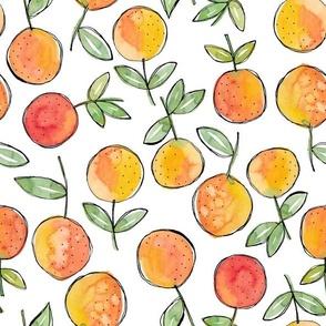 Oranges toss