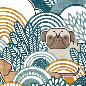 Dog Park Large- Dogs from my Window- Neighborhood Dogs- Corgi- Chihuahua- Doxie- Dashchund- Pug- Shih Tzu- Poodle- Schnauzer- Spaniel- Rescue