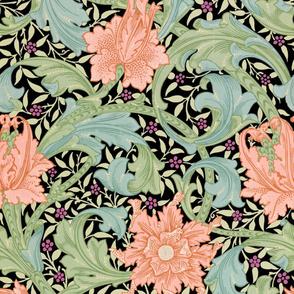 William Morris ~ Single Stem  ~ Custom on Black
