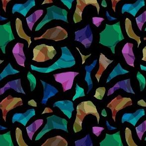 Neon mosaic