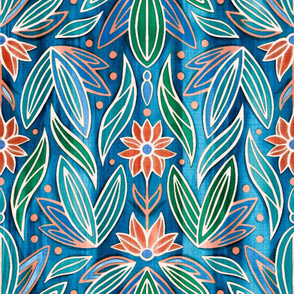 Colorful Rococo Art Deco - Large Scale