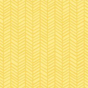 Herringbone M+M Yolk Sunshine Small Scale by Friztin