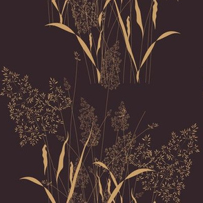 Small grass flowers