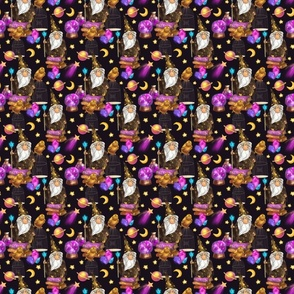 Wizard magical pattern