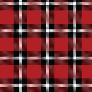 Red Plaid - Large (July 4th Collection)