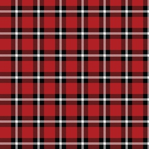 Red Plaid - Medium (July 4th Collection)