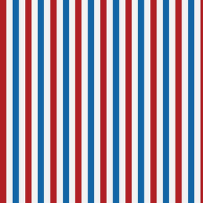 Red, White, and Blue Stripes - Medium (July 4th collection)