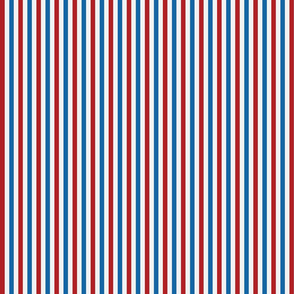 Red, White, and Blue Stripes - Small (July 4th collection)