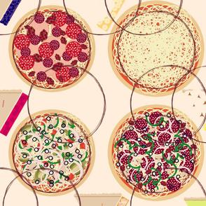 pizza pie-piece a pie soft
