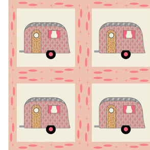 Cheater Quilt, Fill-a-Yard_Pink Airstream2