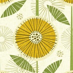 Sunny Flowers - Large
