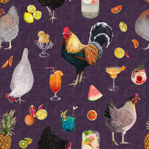 Cocktails with Chicken, drinking with chicken